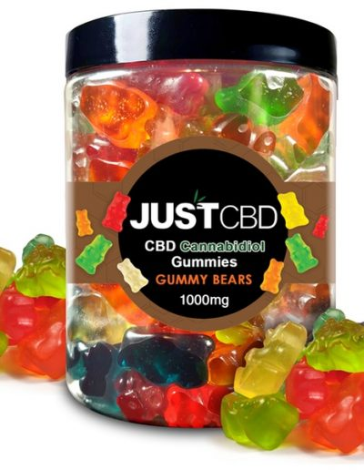 JUST CBD Cannabidiol Gummy Bears